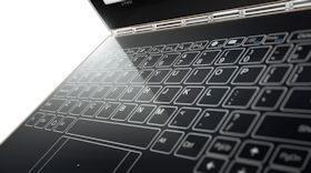 Lenovo Yoga Book mit einblendbarer Tastatur