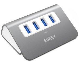 AUKEY USB 3.0 Hub 4 Port Super Speed Aluminum