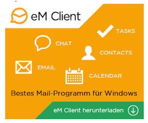 eM Client - umfangreiche E-Mail- und Kommunikationslösung
