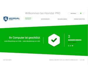 Heimdal Security - Echtzeitüberwachung des ein- und ausgehenden Datenverkehrs mit proaktiven Schutz gegen Trojaner, Ransomware und Viren