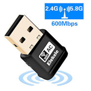 Elekele® Mini USB Wlan Adapter (ealtek RTL8811AU Wirelass LAN 802.11ac USB 2.0 Network Adapter)