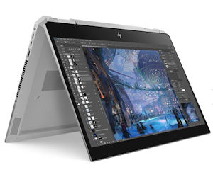 HP ZBook Studio x360-G5 Convertible Workstation