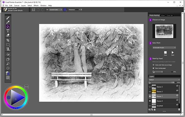 Corel Painter - digitale Kunstwerke mit dem Malprogramm erschaffen